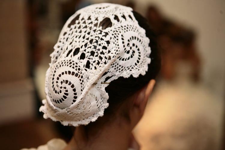 Acessório de cabelo para daminhas está entre os produtos apresentados no Spicy Wedding Day, evento voltado para casais em São Paulo (18/11/2010)