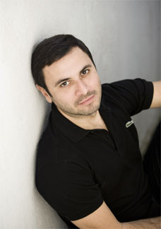 O estilista André Lima
