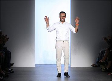 O estilista brasileiro Francisco Costa - AP