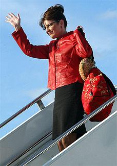 A candidata vice-presidente pelo partido republicano Sarah Palin