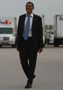 Barack Obama, candidato democrata à presidência dos EUA, foi um dos eleitos pela 'Esquire'