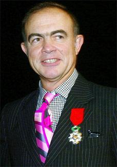 O estilista francês Christian Lacroix, um dos cotados para criar a roupagem da imagem - AFP