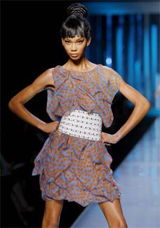 Look de verão 2009 da Dior - EFE