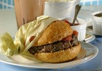 Lanchonete da Cidade tem seu tradicional hambúrguer no pão francês - Divulgação