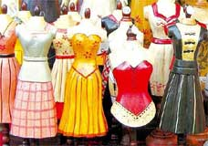 Manequins de madeira: numeração seguirá formatos de corpo 'ampulheta', 'cilindro' e 'pêra'
