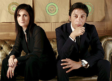 Maria Grazia Chiuri e Pier Paolo Piccioli são os novos diretores criativos da grife - EFE