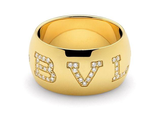 Aliança BVL ouro amarelo, na Bvlgari (Tel.: 11 3081-8833)
