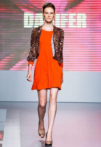 A Danifer apresenta coleção para o Inverno 2012 durante o segundo dia de Mega Polo Moda. O evento é realizado pelo famoso shopping atacadista do Brás, bairro de São Paulo conhecido pelas lojas de moda popular (28/02/2012)