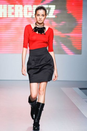 A Cherchez apresenta coleção para o Inverno 2012 durante o terceiro dia de Mega Polo Moda. O evento é realizado pelo famoso shopping atacadista do Brás, bairro de São Paulo conhecido pelas lojas de moda popular (29/02/2012)
