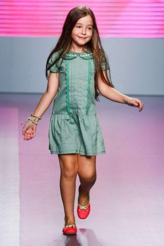 A Chica Fulô apresenta coleção para o Inverno 2012 durante o terceiro dia de Mega Polo Moda. O evento é realizado pelo famoso shopping atacadista do Brás, bairro de São Paulo conhecido pelas lojas de moda popular (29/02/2012)