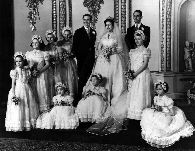 O casamento da princesa Margaret com o fotógrafo Anthony Armstrong-Jones foi um dos primeiros com transmissão pela tevê