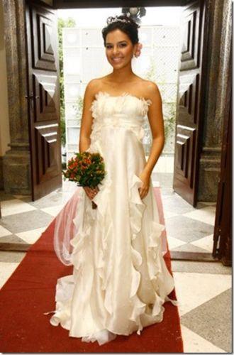 Mariana Rios casou-se no papel de Yasmim em