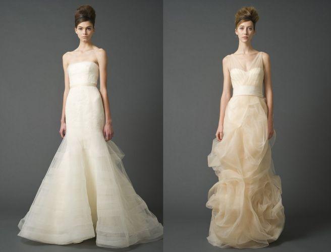 Todos os modelos da Vera Wang são de seda e custam de R$ 15 mil a R$ 33 mil