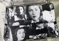 Bolsa do desfile, inspirada na escritora Clarice Lispector