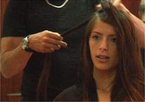 A modelo Daniella Cott, que era catadora de papel na Argentina - BBC