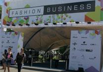 Entrada da feira de negócios Fashion Business, evento paralelo aos desfiles do Fashion Rio - Poio Estavski