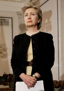 A senadora americana Hillary Clinton - EFE