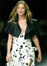 A top model Kate Moss