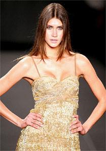 Vestido da coleção verão 2008 do estilista, apresentado na SPFW