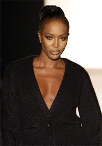 Naomi já foi detida por agredir uma empregada doméstica - AFP