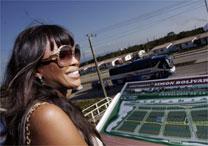 """Naomi Campbell tornou-se repórter política para a """"GQ""""; na foto, a modelo em Cuba - Reuters"""