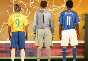 Uniformes da seleção brasileira, desenhados pela Nike - Divulgação/Nike