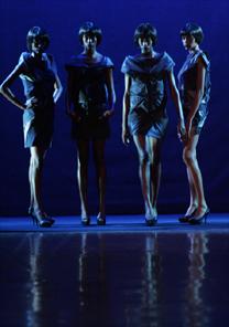Estreante no SPFW, Priscila Darolt se inspirou nas divas do jazz para criar coleção - Alexandre Schneider/UOL