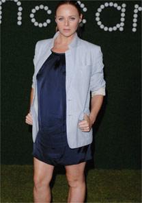 A estilista Stella McCartney,<BR>que teve seu terceiro filho - Brainpix