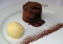 Petit gateau do Le Coq Hardy: com a reinauguração, o chef Pascal Valero apostou na receita original