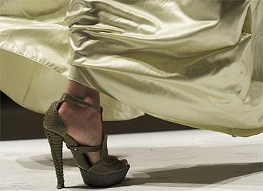 Sapato da grife Salvatore Ferragamo da coleção Verão 2009