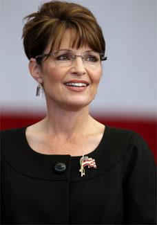 A candidata à vice-presidência dos EUA, Sarah Palin, durante campanha no estado de Nevada - Reuters
